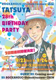 店長TATSUYA 28th BIRTHDAY PARTY DAY1