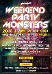 WEEKEND PARTY MONSTERS