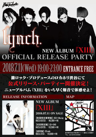 lynch. NEW ALBUM『Xlll』OFFICIAL RELEASE PARTY
