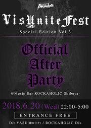 VisUnite Fest Special Edition Vol.3 オフィシャル・アフターパーティー