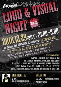 LOUD & VISUAL NIGHT vol.23