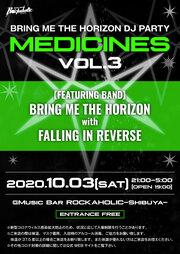 "BRING ME THE HORIZON DJ PARTY ""MEDICINES Vol.3"""