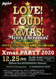 ROCKAHOLIC-Shibuya- Xmas Party2020