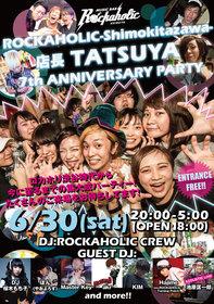 店長TATSUYAロカホリ就任7周年パーティー