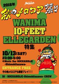 2018年秋のメロコア祭り ~WANIMA、10-FEET、ELLEGARDEN特集~