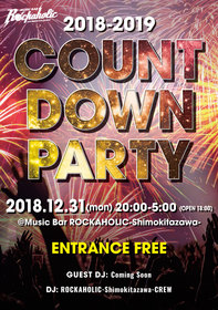 COUNTDOWN PARTY2018-2019
