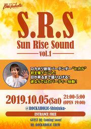 バーテンダーヒカル初主催S.R.S(Sun Rise Sound)vol.1
