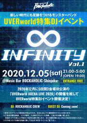UVERworld特集DJイベント ∞ -Infinity- Vol.1