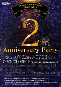 ROCKAHOLIC新宿2周年パーティー DAY1